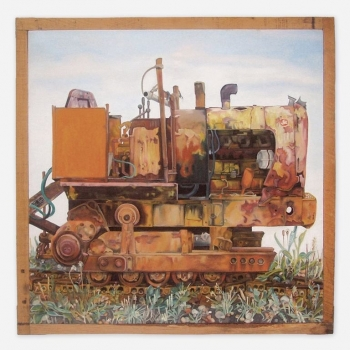 Portrait of a Tractor
